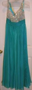 green-dress