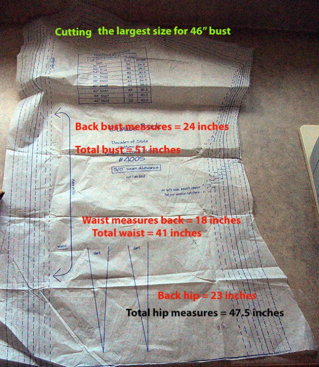 measured-pattern