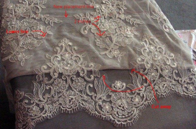 lace-cut