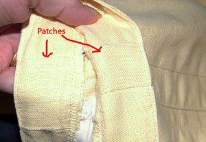 old-yellow-patches