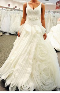 Vera-Wang-White-Ball-Gown-V