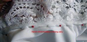 65. hand sew bias